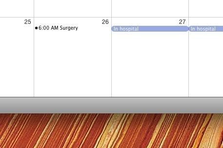 Surgery date